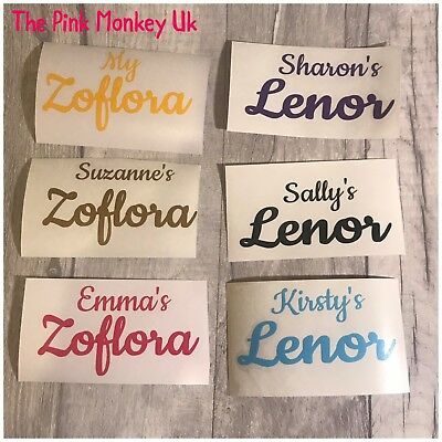 Personalised Zoflora Or Lenor Spray Bottle Sticker Mrs Hinch Army • 2£