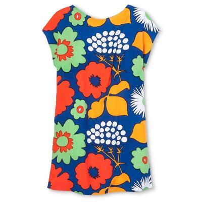 0c06ebdee2c Marimekko Target Sz M Kukkatori Tunic Dress Top Swim Cover Up Colorful •  39.99$