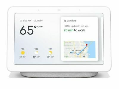 View Details New Sealed Google Home  Hub With Google Assistant (GA00516-US) - Chalk Gray • 129.99$ CDN