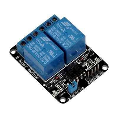 AU8.95 • Buy 5v 2 Channel Relay Module With Optocoupler