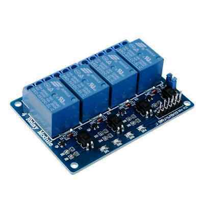 AU10.95 • Buy 5v 4 Channel Relay Module With Optocoupler