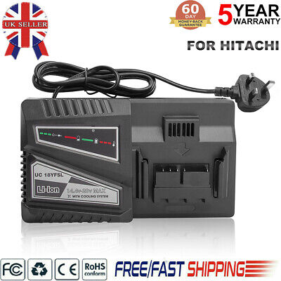Hot Replacement For HITACHI UC18YKSL (14.4V To 18V) Rapid Li-Ion Battery Charger • 28.59£