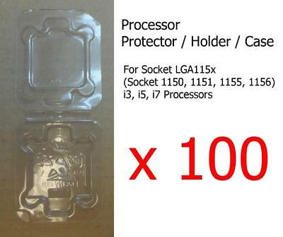 100x Socket 1150 1151 1155 1156 I3, I5 & I7 Processor CPU Cover Holder Protector • 89.99£