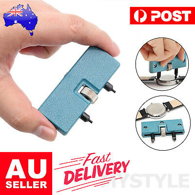 AU8.95 • Buy Watch Back Case Cover Opener Remover Wrench Repair Kit Removal Watchmaker Tool