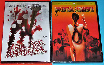 NAIL GUN MASSACRE + INOCENTADA SANGRIENTA / April Fool's Day - DVD R2 - Precinta • 8.86£