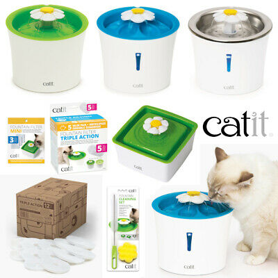 £14.99 • Buy Catit Cat & Kitten Drinking Water Flower Fountains - Replacement Filters & Kit