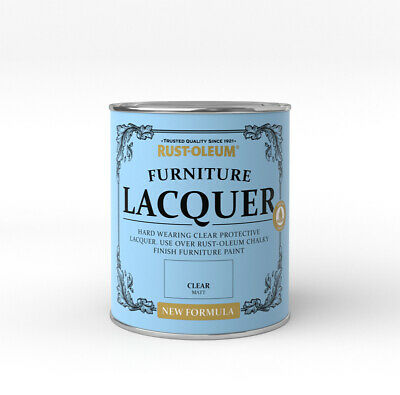 £9.01 • Buy Rust-Oleum Furniture Lacquer 750ml / 125ml - Chalk Paint Protection