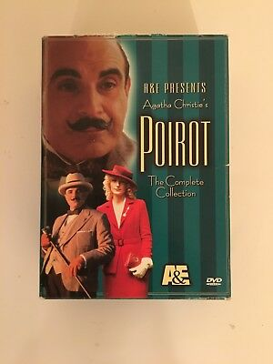 £28.95 • Buy Poirot - The Complete Collection (DVD, 2002, 4-Disc Box Set)