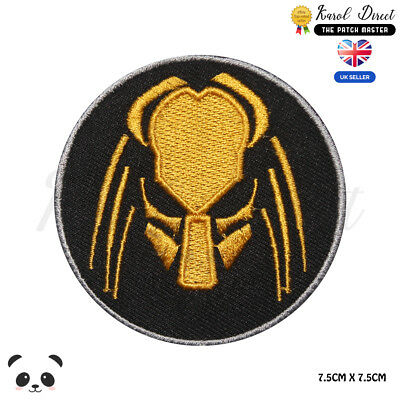 £1.99 • Buy Predator Movie Logo Embroidered Iron On Sew On PatchBadge For Clothes Etc