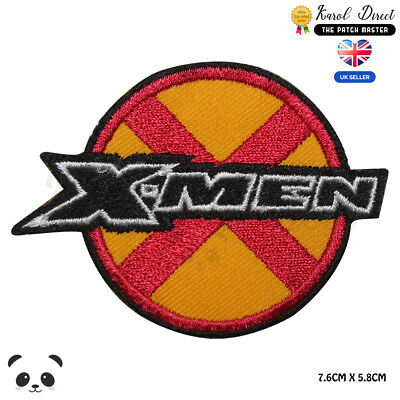 £1.99 • Buy X MEN Super Hero Movie Embroidered Iron On Sew On PatchBadge