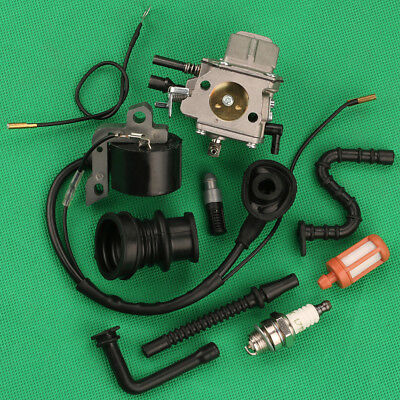 Carburetor For STIHL 066 MS660 MS650 064 065 Chainsaw Ignition Coil Intake Boot • 20.74£