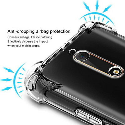 AU2.96 • Buy For Nokia 7 7.1 Plus 2 3 5 6 8 9 Shockproof Clear Slim Silicone Soft Case Cover