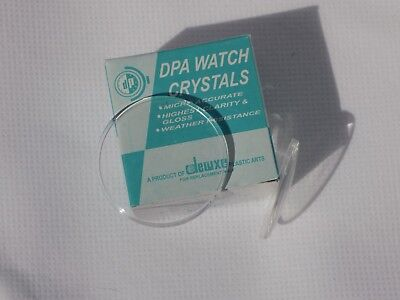 £2.99 • Buy Domed Acrylic Watch Crystal Glass Face Lens Replacement Sizes 19.00mm-40.00mm
