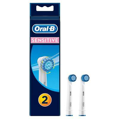 AU11.90 • Buy Oral-B Sensitive Replacement Electric Toothbrush Heads Refills Extra Soft 2 Pack