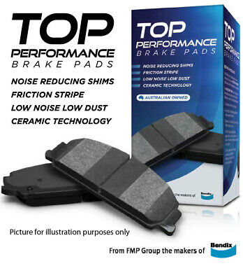 AU56.04 • Buy Top Performance Brake Pads From The Makers Of Bendix Front  DB1439TP (DB1439) Su