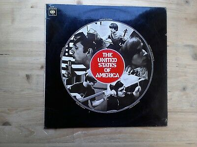The United States Of America UK 1st Press Very Good Vinyl Record CBS 63340 • 50£
