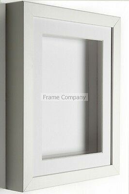 Black Or White Picture Photo 3D Box Frames With Mounts  • 13.43£