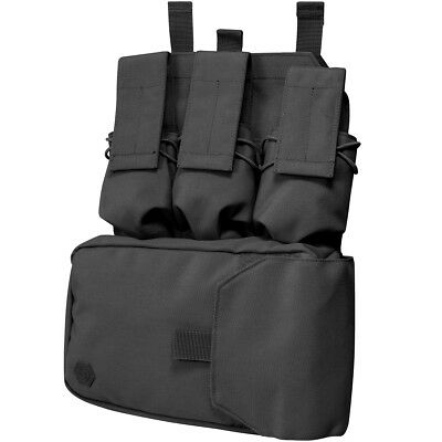 Viper Assault Panel MOLLE Patrol Tactical Army Ammo Hunting Police Airsoft Black • 26.50£