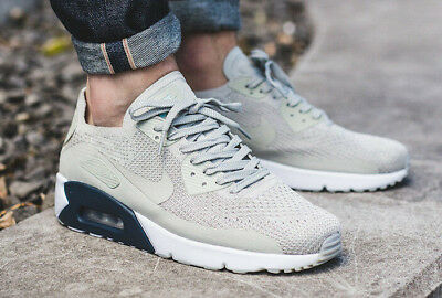 low priced ea671 431d1 Nike Air Max 90 Ultra 2.0 Flyknit Trainers Uk 12 Eu 47.5 875943-006 Mens