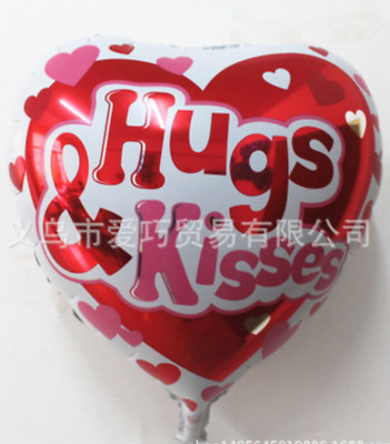 AU1.65 • Buy Valentine's Day Love Heart Foil Balloons -Get It Before Valentine's Day18 /45cm