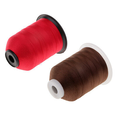Prettyia 2pcs Whipping Wrapping Threads For Fishing Rod Ring Guides 2187Yds • 13.11£