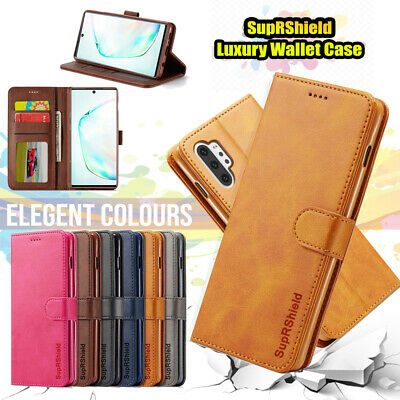 AU7.49 • Buy For Samsung Note 20 Ultra 10+ 8 9 S10 S9 S8 Plus Flip Leather WALLET Case Cover