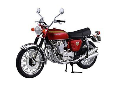 1:12 Scale Diecast Motorcycle Aoshima Red Honda Dream CB750Four Japan Model Toy • 30.33£
