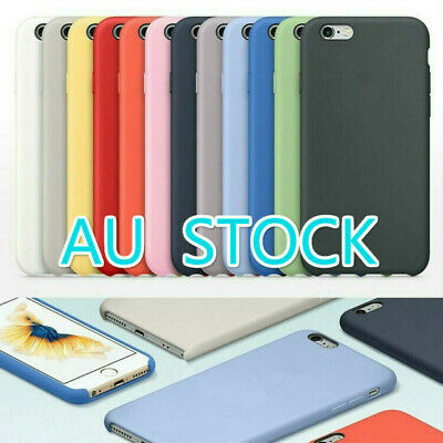 AU8.89 • Buy For Apple IPhone11 XR XS MAX X 6 6S 7 8 Plus Case  Silicone Case Cover