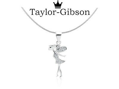 £12.30 • Buy 925 Sterling Silver Fairy Necklace Chain Gift Present  Kids Girls Womens