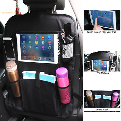 $13.69 • Buy Car Back Seat Organizer For Kids Accessories Touch Screen IPad Tablet Holder
