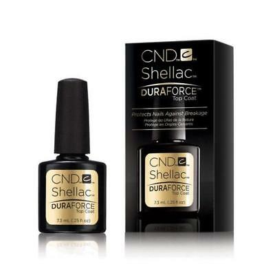AU19.50 • Buy CND Shellac UV/LED Gel Polish Duraforce Top Coat 0.25oz / 7.3ml On Sale