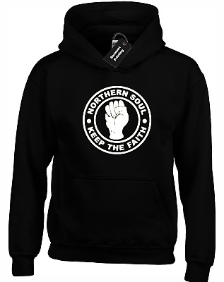 Northern Soul Hoody Hoodie Music Motown Specials The Ska Retro Classic Madness • 14.99£