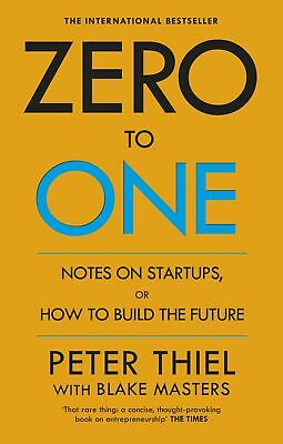 AU21.10 • Buy Zero To One Notes On Startups By ‎Peter Thiel & Blake Masters Paperback Book