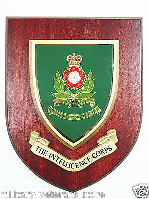 Intelligence Corps Nclassic Hand Made In The Uk Regimental Wall Plaque • 19.99£