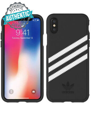 AU16.40 • Buy Adidas IPhone X XS Case SAMBA Black Originals Moulded PU Case