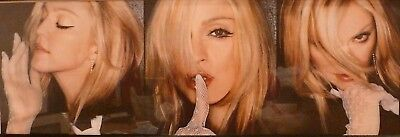$34.99 • Buy MADONNA POSTER  Three Image  NEW Rolled VINTAGE - 36 X 12 3/4