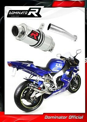 $187.58 • Buy YZF R1 1000 RN04 Exhaust GP I Dominator Racing Silencer 1998 1999 2000 2001