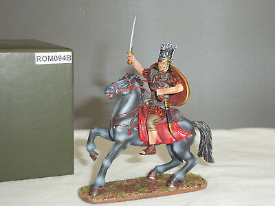 Thomas Gunn Rom094b Roman Cavalry Officer Mounted Ready For Action Toy Soldier • 99.99£