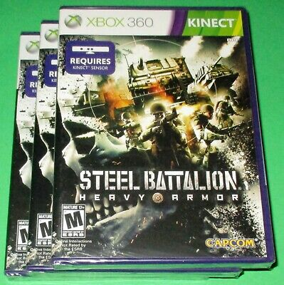 £14.12 • Buy Lot Of 3 Steel Battalion: Heavy Armor Xbox 360 Kinect *New! *Sealed! *Free Ship!