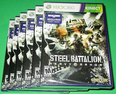 £24.74 • Buy Lot Of 6 Steel Battalion: Heavy Armor Xbox 360 Kinect *New! *Sealed! *Free Ship!
