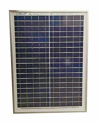 £24.95 • Buy Top Quality 20W Poly Solar Panel PolyCrystalline Caravan Boats Battery Charging