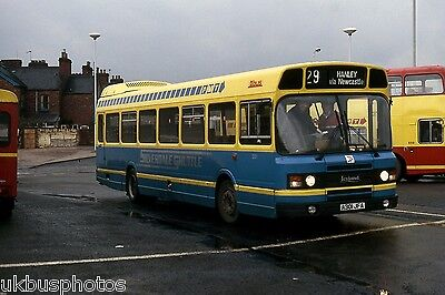 PMT Potteries Motor Traction No.301 Newcastle-Under-Lyme 1986 Bus Photo • 0.99£