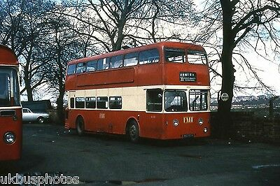 PMT Potteries Motor Traction No.1861 Hanley Early 1970's Bus Photo • 0.99£