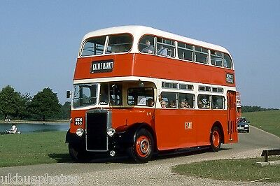 PMT Potteries Motor Traction NEH453 Woburn Abbey Bus Photo • 0.99£