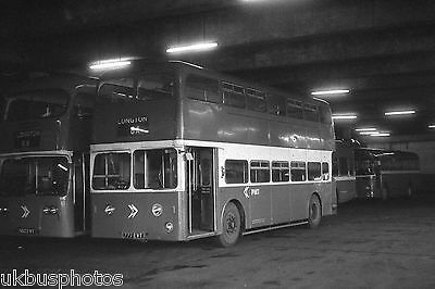 PMT Potteries Motor Traction No.777EVT Longton Depot Bus Photo • 0.99£