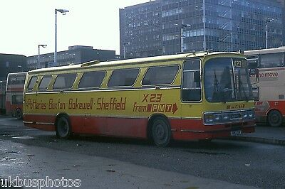 PMT Potteries Motor Traction No.81 Sheffield 1988 Bus Photo • 0.99£