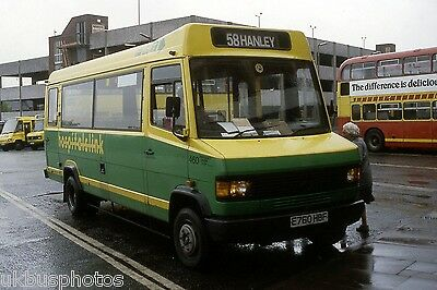 PMT Potteries Motor Traction No.460 Hanley 1990 Bus Photo • 0.99£