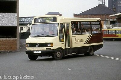 PMT Potteries Motor Traction-Turners MMM430 Hanley 1993 Bus Photo • 0.99£