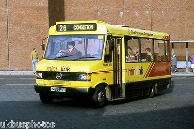 £0.99 • Buy PMT Potteries Motor Traction MM485 Congleton 1993 Bus Photo