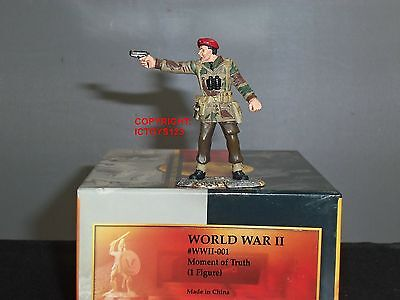 Conte Ww2-001 British Paratrooper Moment Of Truth Metal Toy Soldier Figure • 49.99£